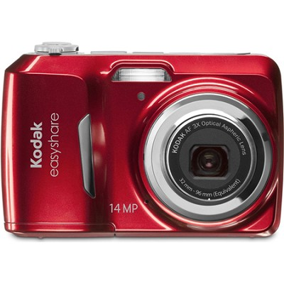 EasyShare C1530 14 MP Camera with 3x Optical Zoom and 3 Inch LCD (Red)