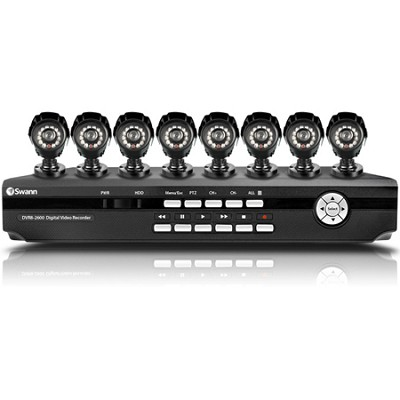 SWDVK-826008 - 8 Channel DVR with Smartphone Viewing & 8 x CCD Cameras
