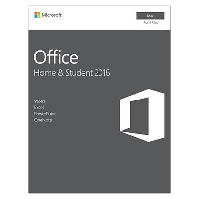 Office Home and Student 2016 for Mac - GZA-00850