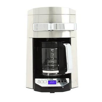 14 Cup 24 Hour Programmable Front Access Stainless Steel Drip Coffee Maker