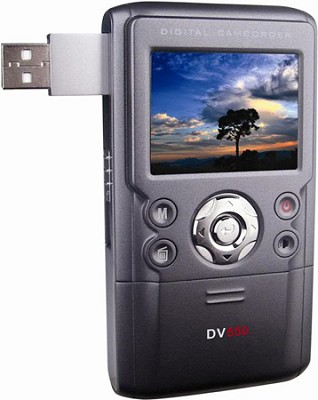 DV550UW 12.0 MegaPixel Digital Video Camcorder & Still Camera