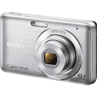 DSC-W310 Digital Camera (Silver) - OPEN BOX