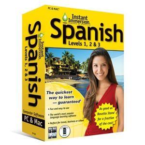 Spanish Levels 1 2 & 3 (V2) Win/Mac