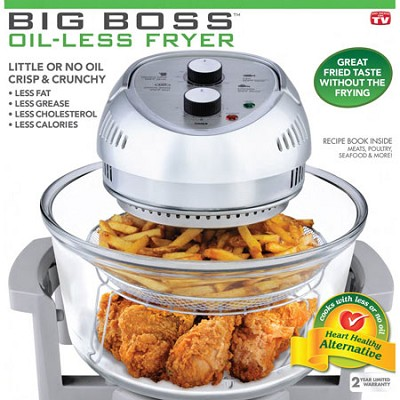 16-Quart 1300 Watt Oil Less Fryer
