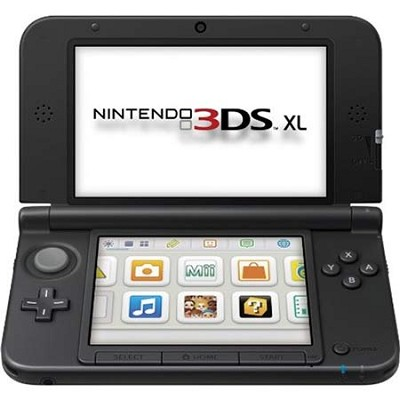 3DS XL Portable Gaming Console - Red and Black ( SPRSRKAB)