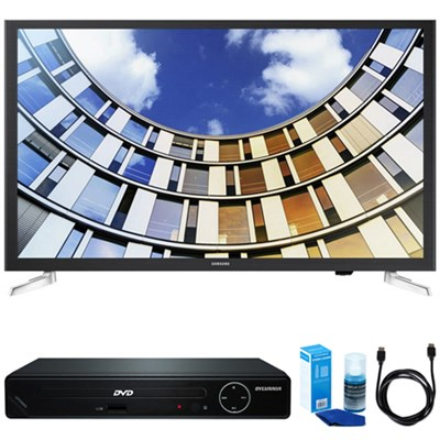 Flat 32` LED 5 Series Smart TV 2017 Model w/ HDMI DVD Player Bundle