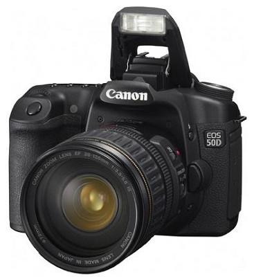 EOS 50D SLR Camera with 28-135mm Lens