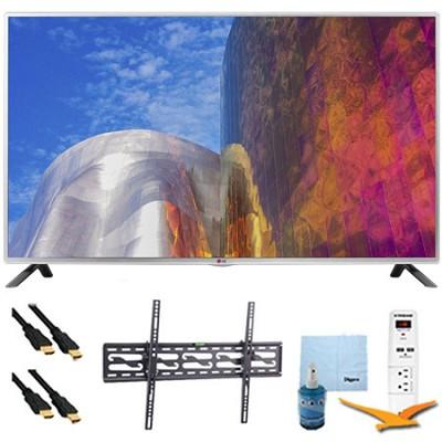 55LB5900 - 55-Inch Full HD 1080p 120hz LED HDTV Plus Tilt Mount & Hook-Up Bundle
