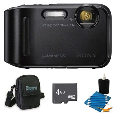 Cyber-shot DSC-TF1 16 MP 2.7-Inch LCD Waterproof Digital Camera Black Kit
