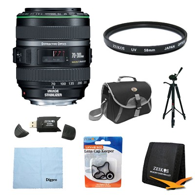 EF 70-300mm F/4.5-5.6 DO IS USM Lens Exclusive Pro Kit
