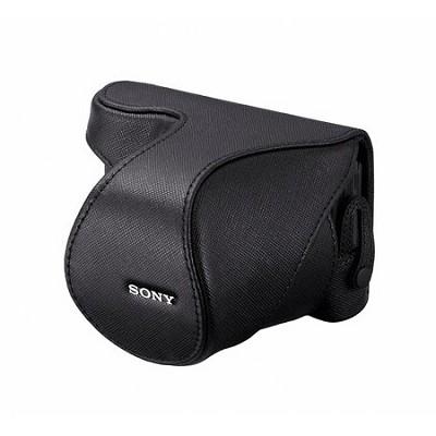 Alpha NEX Lens Jacket with Embossed Design (Black)