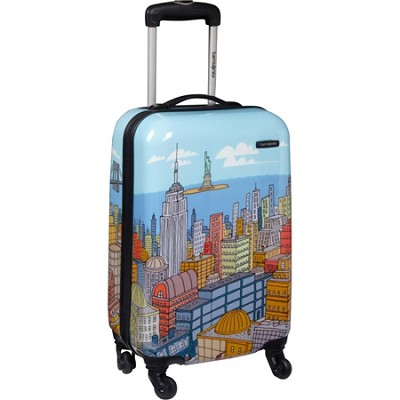 Cityscapes 20` Hardside Spinner Collection Expandable Wheeled Suitcase