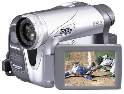 PV-GS31 MiniDV Camcorder w/ 26x Optical Zoom! - OPEN BOX
