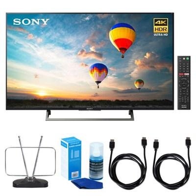 43-inch 4K HDR Ultra HD Smart LED TV (2017 Model) w/ TV Cut the Cord Bundle