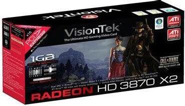 Radeon HD3870 X2  1GB DDR3 PCIe 2.0 Graphics Card