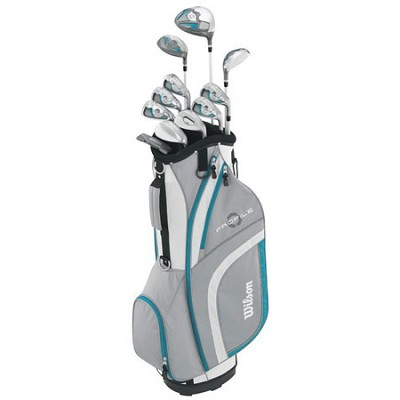 Women's 2015 Ladies Profile XLS Complete Package Golf Set, Teal
