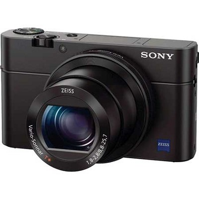 Cyber-shot DSC-RX100 III 20.2 MP Digital Camera - Black