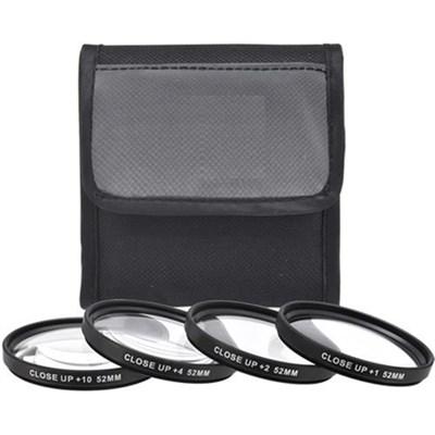 58mm 4pc HD Macro Close-UP Lens Filter Set +1 +2 +4 +10