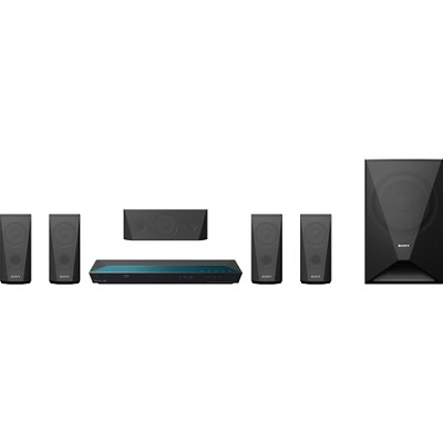 BDVE3100 - 5.1 Channel 3D Blu-ray Disc Home Theater System with Built-In Wi-Fi