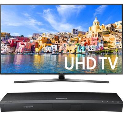 65` Class KU7000 7-Series 4K UHD TV + Samsung UBDK8500 4K UHD Blu-Ray Player