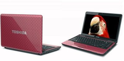 Satellite L735-S3210RD 13.3 Inch Matrix Red Notebook Intel Pentium B940