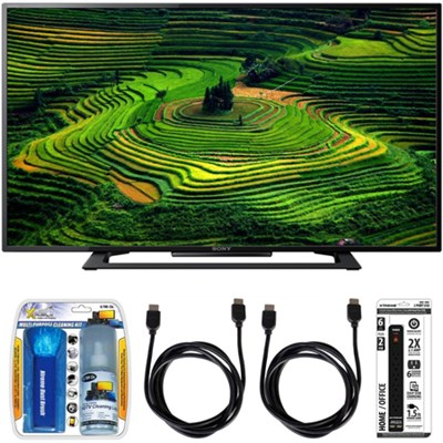 KDL-40R350D 40` Premium HD 1080p LED TV w/ Accessory Bundle