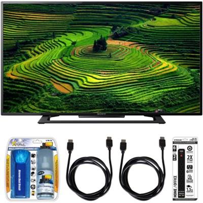 KDL-40R350D 40` Premium HD 1080p LED TV w/ Accessory Bundle