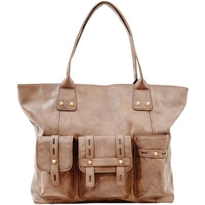 Olly Shoulder Bag - Taupe