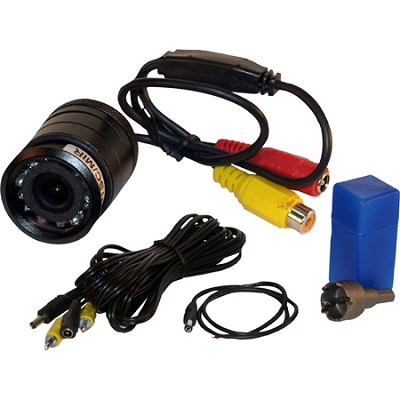 Flush Mount Rear View Camera with 0.5 Lux Night Vision