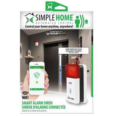 XHS7-1002-WHT WiFi Smart Siren Alarm - White