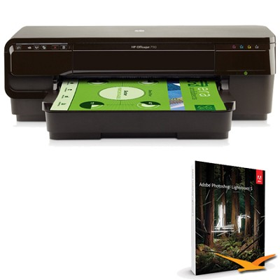 Officejet 7110 Wireless Color Photo Printer with Photoshop Lightroom 5 MAC/PC