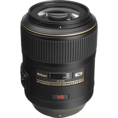 105mm f/2.8G ED-IF AF-S VR Micro-Nikkor Close-up Lens USA WARRANTY
