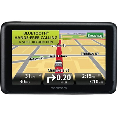 TomTom GO 2435TM 4.3` Portable Bluetooth GPS Navigator, Lifetime Traffic  & Maps