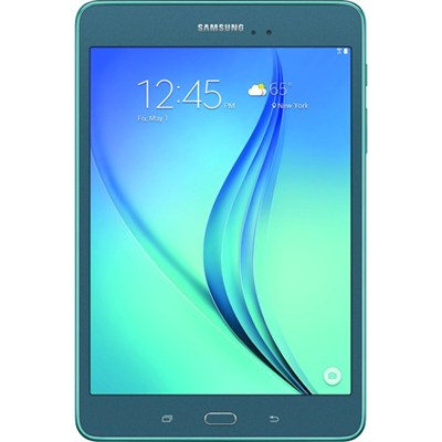 Galaxy Tab A SM-T350NZBAXAR 8-Inch Tablet (16 GB, Smoky Blue) - OPEN BOX