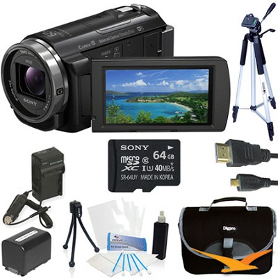 HDR-PJ540/B Full HD 60p/24p Camcorder w/ Balanced Optical SteadyShot Kit