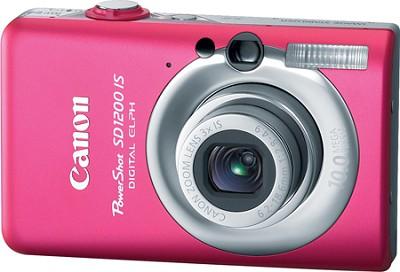 Powershot SD1200 IS 10MP Digital ELPH Camera (Pink)
