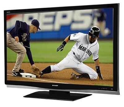 LC-37D64U AQUOS 37` Slim-line HD 1080p LCD Panel TV