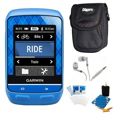 Edge 510 Cycling Team Garmin Monitor and Sensors GPS with Case Bundle