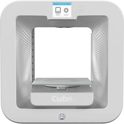 Cube 3D Printer Base - White