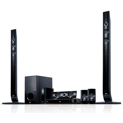 LHB976 - 3D Wifi Blu Ray Home Theater System with Wireless Speakers-OPEN BOX