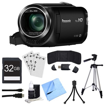 HC-W580K Full HD Camcorder w/ Built-in Wi-Fi, Multi Scene Twin Camera + 32GB Kit