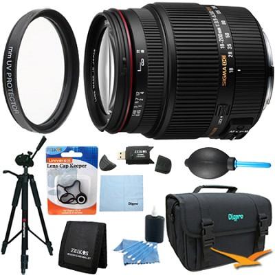 18-200mm F3.5-6.3 II DC OS HSM Zoom Lens for Nikon DSLRs - Lens Kit Bundle