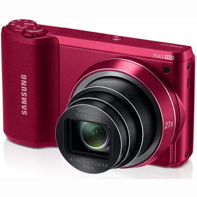 WB800F 16.3 MP Smart Camera with Built-in Wi-Fi - Red - OPEN BOX