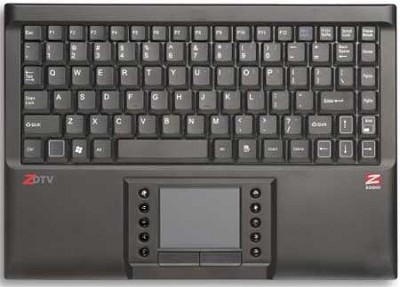 ZDTV Wireless Keyboard and Software for HDTV