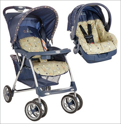 Juvenile Beginnings Sprint Travel System (Circle Safari)
