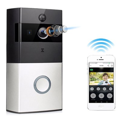 IPC010 - Smart Video Doorbell 720P HD Wifi Security Camera w/ 8G Memory Storage