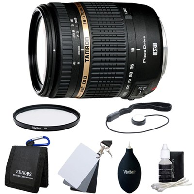 18-270mm f/3.5-6.3 Di II VC PZD Aspherical Lens Kit f/ Canon DSLR
