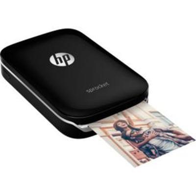 Sprocket Portable Photo Printer, X7N08A, Black