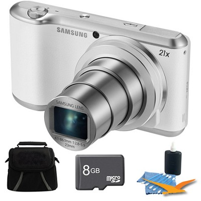 GC200 16.3MP 21x Opt Zoom Full HD 1920 x 1080 Galaxy Camera 2 White Kit