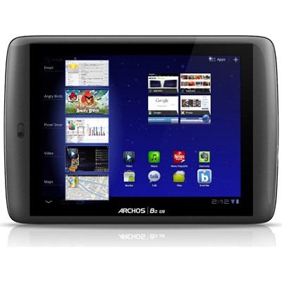 80 G9 1.5 GHz 250 GB 8` Tablet with Android 3.2 Honeycomb OS